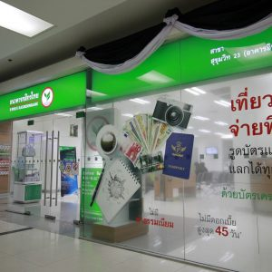 Retail space in Bangkok for rent